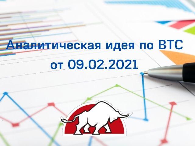 Аналитическая идея по BTC от 09.02.2021