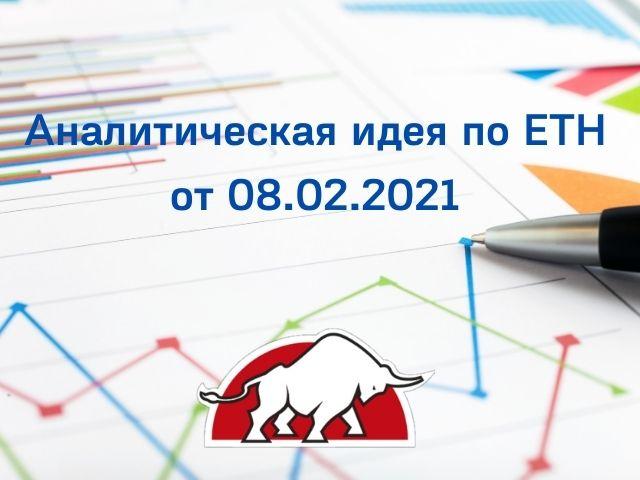 Аналитическая идея по ETH от 08.02.2021