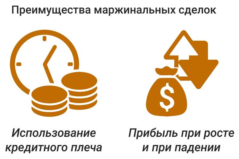 Плюсы маржинальных сделок